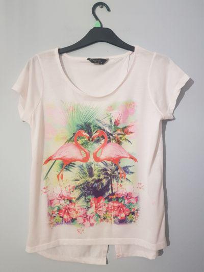 T-shirt Bluzeczka z flamingami