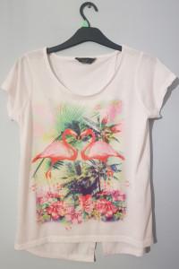 Bluzeczka z flamingami...