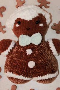 Maskotka ciastek piernik świąteczny...