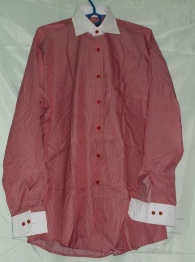 Koszule Koszulakoszula męskakoszula z długim rękawem NOWA 42 Darex Slim Line