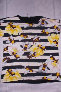 Bluzka zkrótkim rękawem druga bluzka gratis 42 44 NOWA...