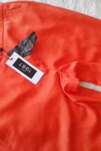 Nowe pomarańczowe Spodnie rozmiar xs...