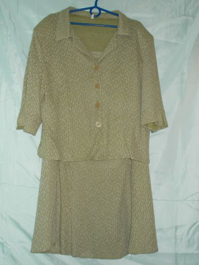 Garsonki i kostiumy Komplet kostium garsonka sukienkabluzkaspódnicażakiet 48 50 52