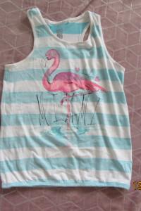 Bluzki na ramiączkach na lato Smyk dla dziewczynki nastolatki 158