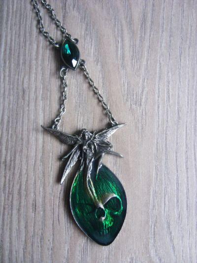 Naszyjniki Naszyjnik absinthe fairy od Alchemy Gothic