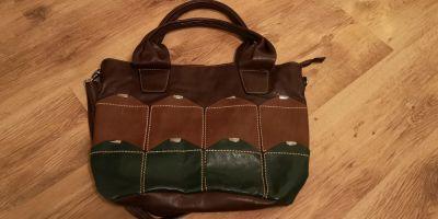 Torebki na co dzień Torebka torba worek listonoszka patchworkowa NOWA