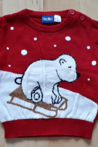 Sweterek rozmiar 74 80 lupilu