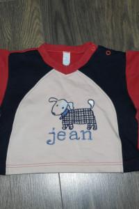 62 68 Chłopięce bluzeczki 3 sztuki