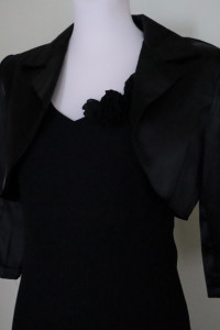 Piękna długa sukienka z bolerkiem...