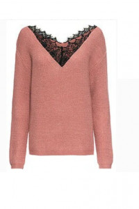 Sweter z koronką...