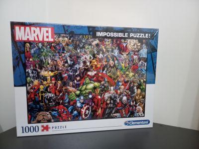 Zabawki Puzzle MARVEL