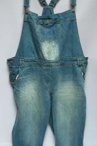Ogrodniczki Dzinsowe Jeansowe George 52 6XL Dzins Spodnie...