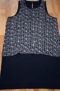 Granatowa sukienka 44...