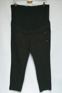 Spodnie Czarne H&M Mama 46 3XL Eleganckie Wizytowe Ciąża...