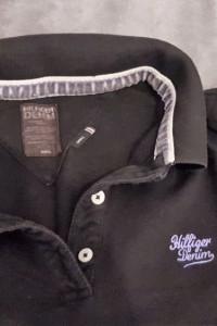 Oryginalne Polo Tommy Hilfiger slim fit czarna...