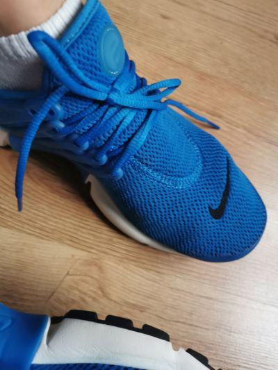 Sportowe Adidasy nike niebieskie