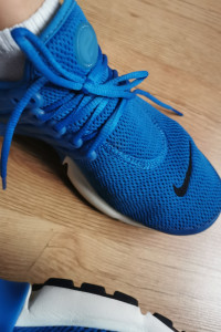 Adidasy nike niebieskie
