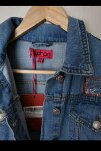 Kurtka jeans boohoo