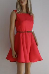 sukienka czerwona Chi Chi London Nancie Dress...