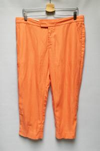 Spodnie Pomarańczowe Inwear L 40 Len Lniane 7 8...