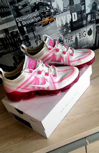 Sportowe Buty damskie Nike Air VaporMax 2019 Pink Rise