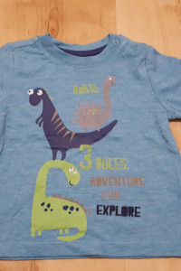 Bluzka rozmiar 62 Cool Club dinozaury