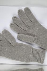 Rękawiczki Sinsay srebrne szare brokat s nowe z metkami