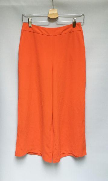 Spodnie Spodnie Rozszerzane Nogawki Czerwone Primark S 36 Spódnica