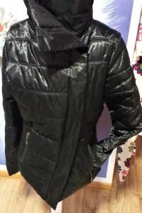 Kurtka czarna zimowa Jobanni faschion apparel L...