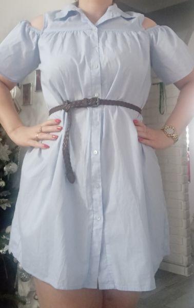 Suknie i sukienki Koszulowa sukienka