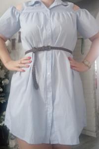 Koszulowa sukienka