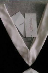 Sukienka Bershka czarno biała 38 M...
