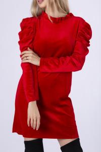 Włoska sukienka welurowa Wyprzedaż kolekcji...