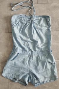 Kombinezon ala jeans Fishbone rozm M 38
