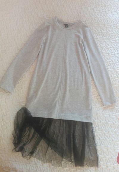 Suknie i sukienki Atmosphere dresowa sukienka z tiulem rozmiar 42