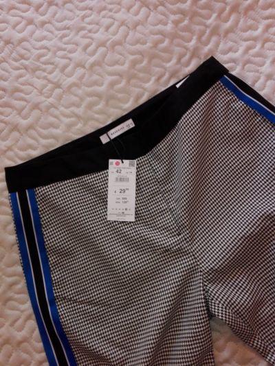 Spodnie Reserved spodnie pepitka lampasy rozmiar 42