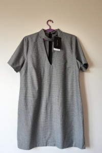 Sukienka Zara kratka choker XL...