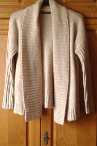 Kardigan sweter Mohito beż karmel 32 xxs