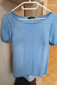 Uniwersalna jeansowa bluzka rozmiar 38