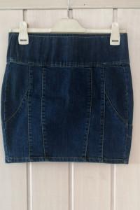 Jeansowa spódniczka...