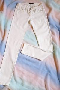 Jeansowe kobiece spodnie Tally Weijl...