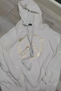 Bluza sweterkowa z kapturem...