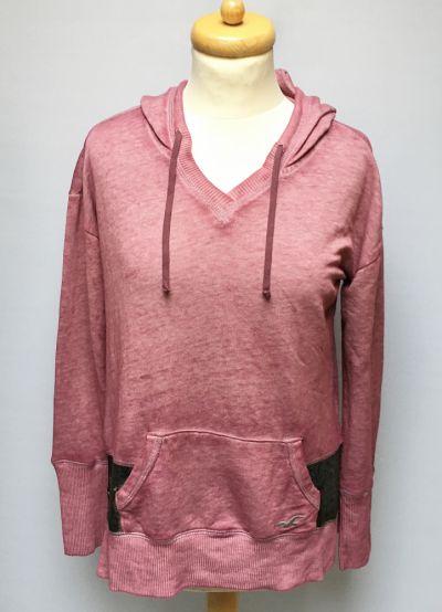 Bluzy Bluza Kangurka Hollister Brudny Róż M 38 Różowa