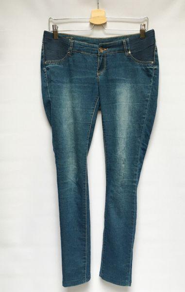 Spodnie Spodnie Ciążowe H&M Mama Rurki L 40 Dzinsy Jeansy