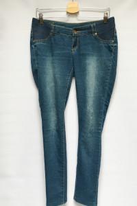 Spodnie Ciążowe H&M Mama Rurki L 40 Dzinsy Jeansy...