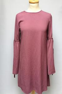 Sukienka Primark M 38 Fioletowa Rozszerzane Rękawy Elegancka...