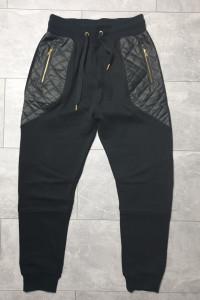 FSBN dresowe spodnie zamki L