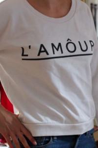 Bluza HM Lamour biała M...