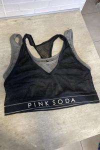 Pink Soda biustonosz sportowy