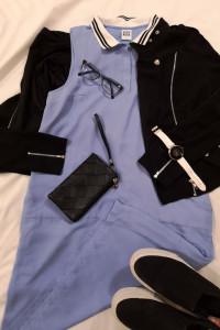 Błękitna sukienka Vero Moda...